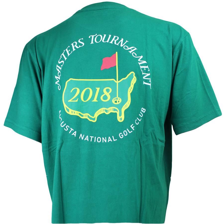 2018 Masters Green Logo T-shirt