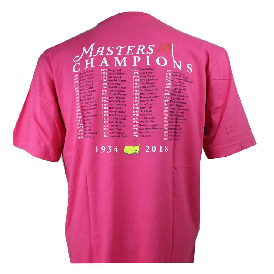 2018 Masters Champions T-Shirt - Strawberry