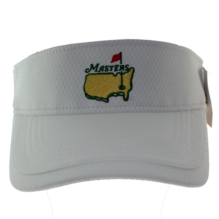 Masters White Performance Tech Low Rider Visor