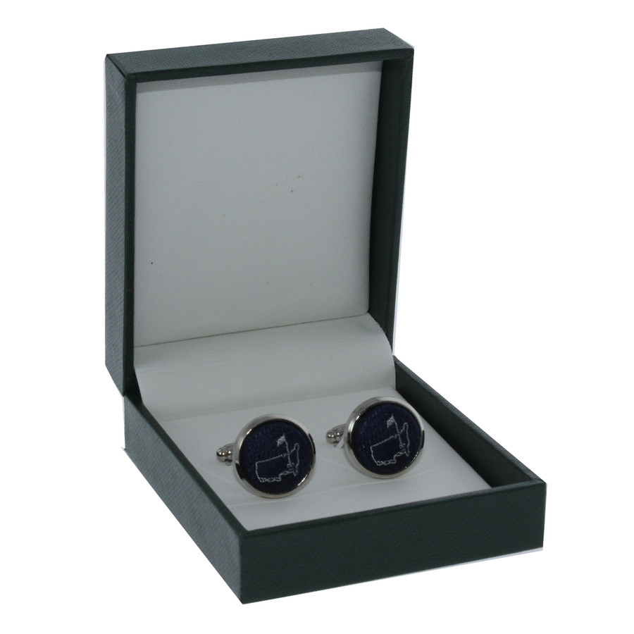 Masters Cuff Links - Navy