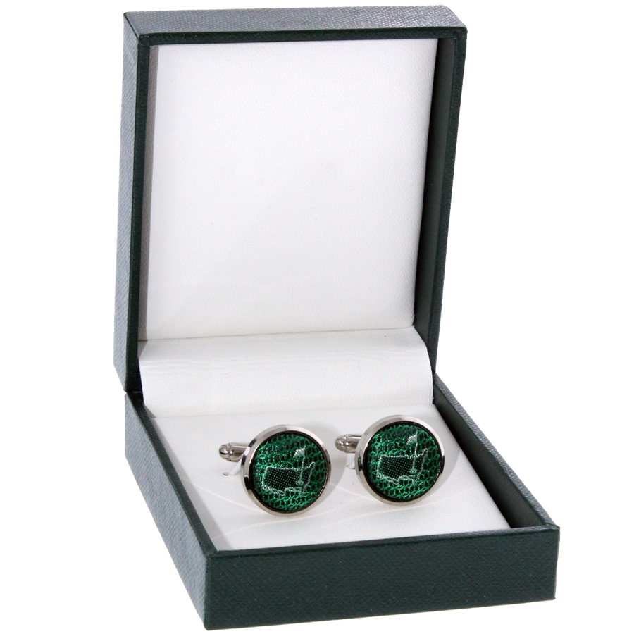 Masters Cuff Links - Green