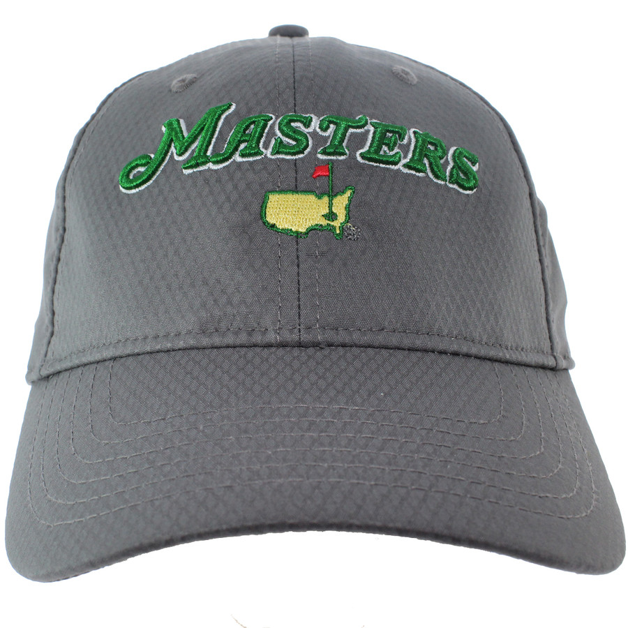 2018 Masters Charcoal Performance Hat