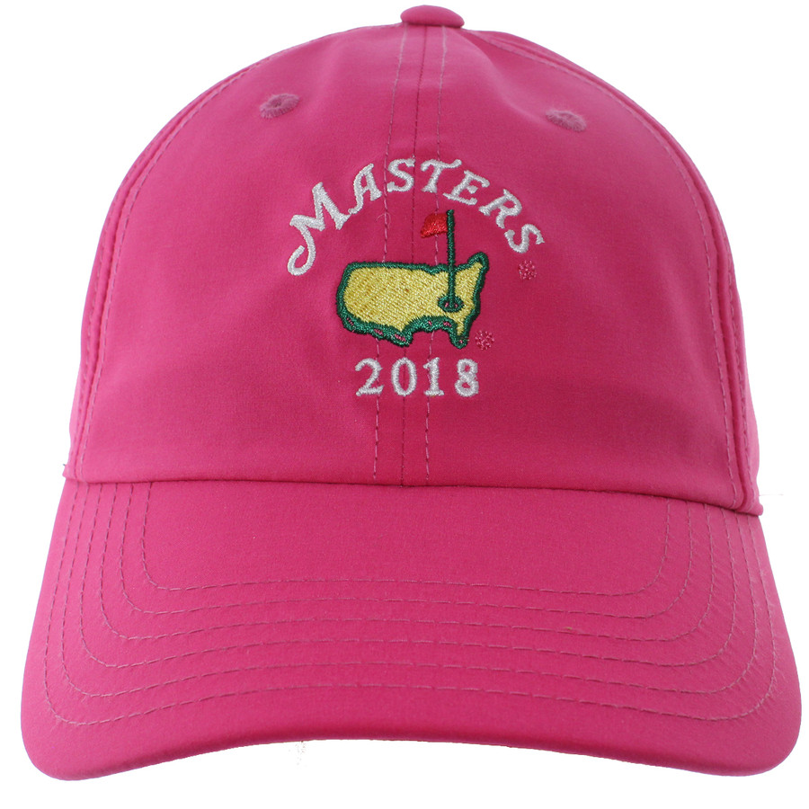 2018 Masters Pink Performance Tech Ladies Hat