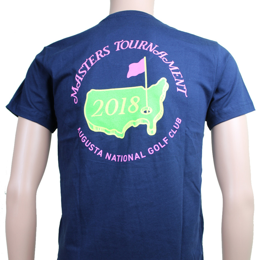 Masters Youth Navy Small Logo T-Shirt