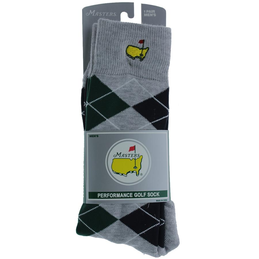Masters Performance Socks - Grey / Navy / Green