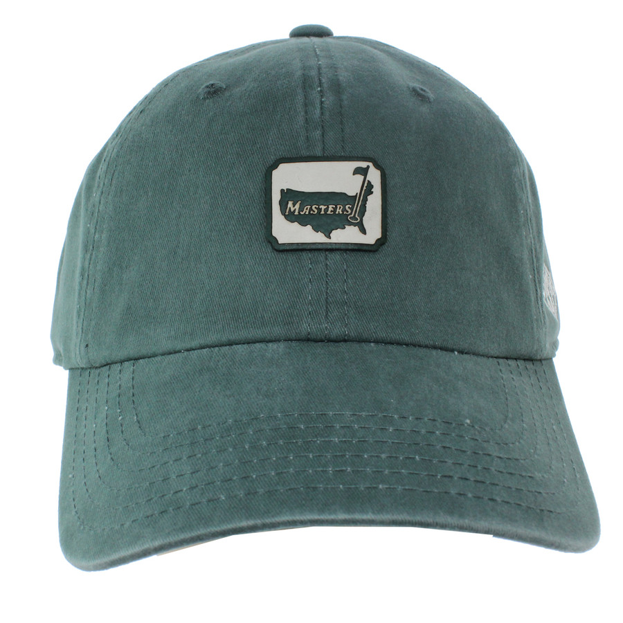 Masters Vintage Green 1934 Collection Box Logo Hat
