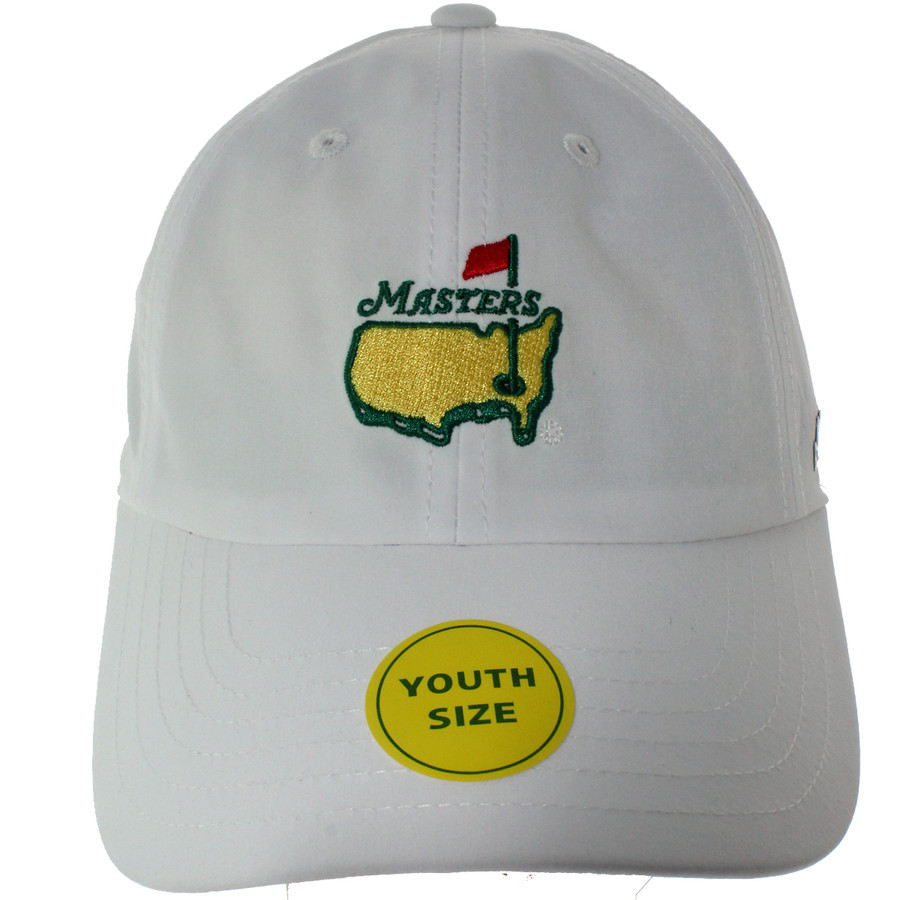 Masters Youth White Performance Tech Hat