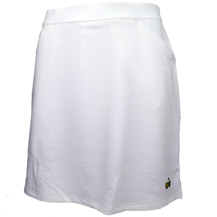 Masters Magnolia Lane Ladies Performance Tech Golf Skirt - White