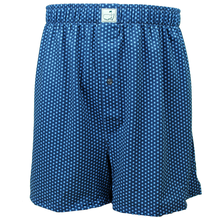 Masters Peter Millar Navy Dotted Performance Boxers