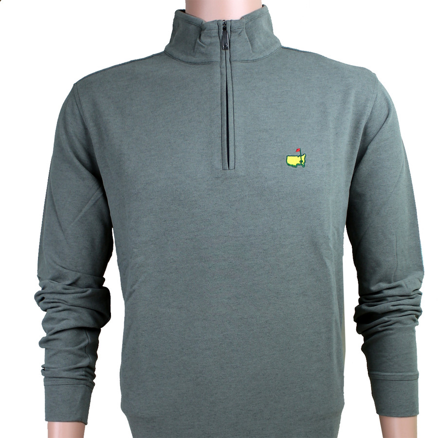 Masters Heather Grey Clubhouse Collection 1/4 Zip Jacket