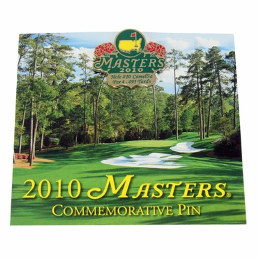 2010 Masters Commemorative Pin
