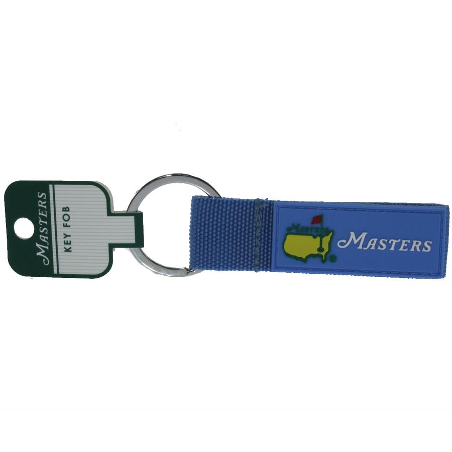 Masters Light Blue Web Key Chain