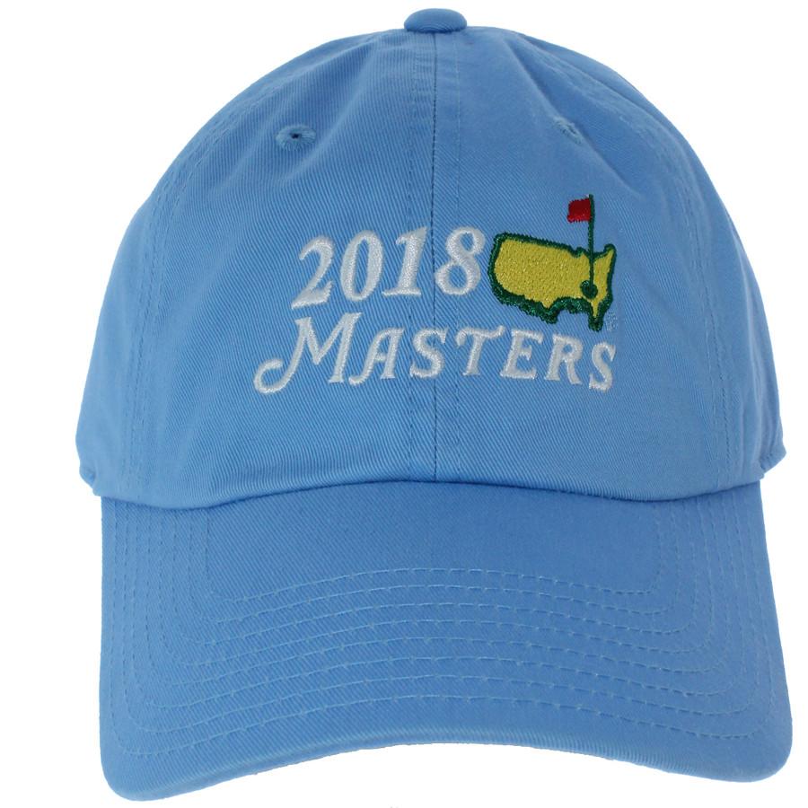 2018 Masters Light Blue Big Logo Hat