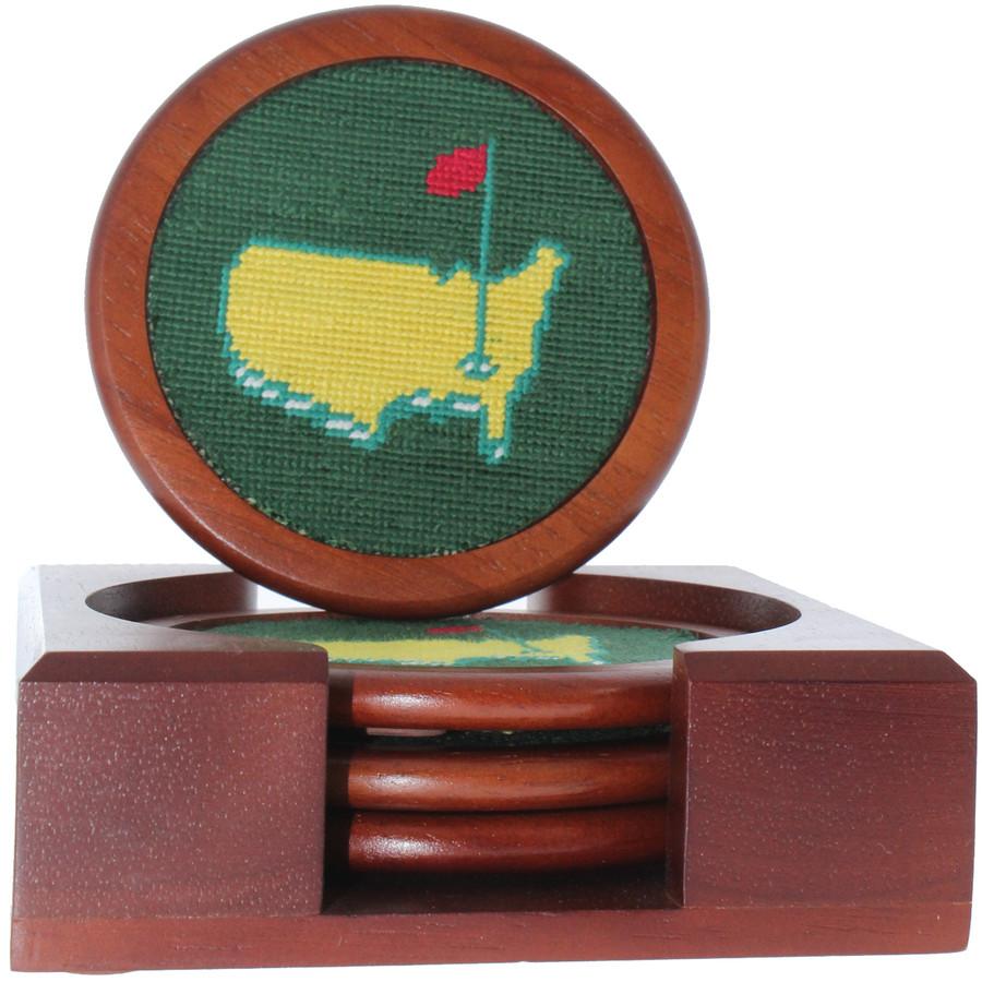 Masters Smathers & Branson Needlepoint Coasters
