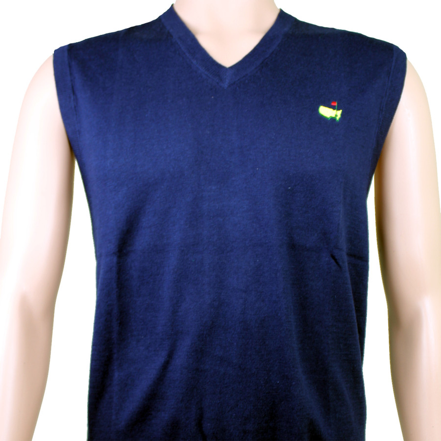 Masters Navy Clubhouse Collection Navy Sweater
