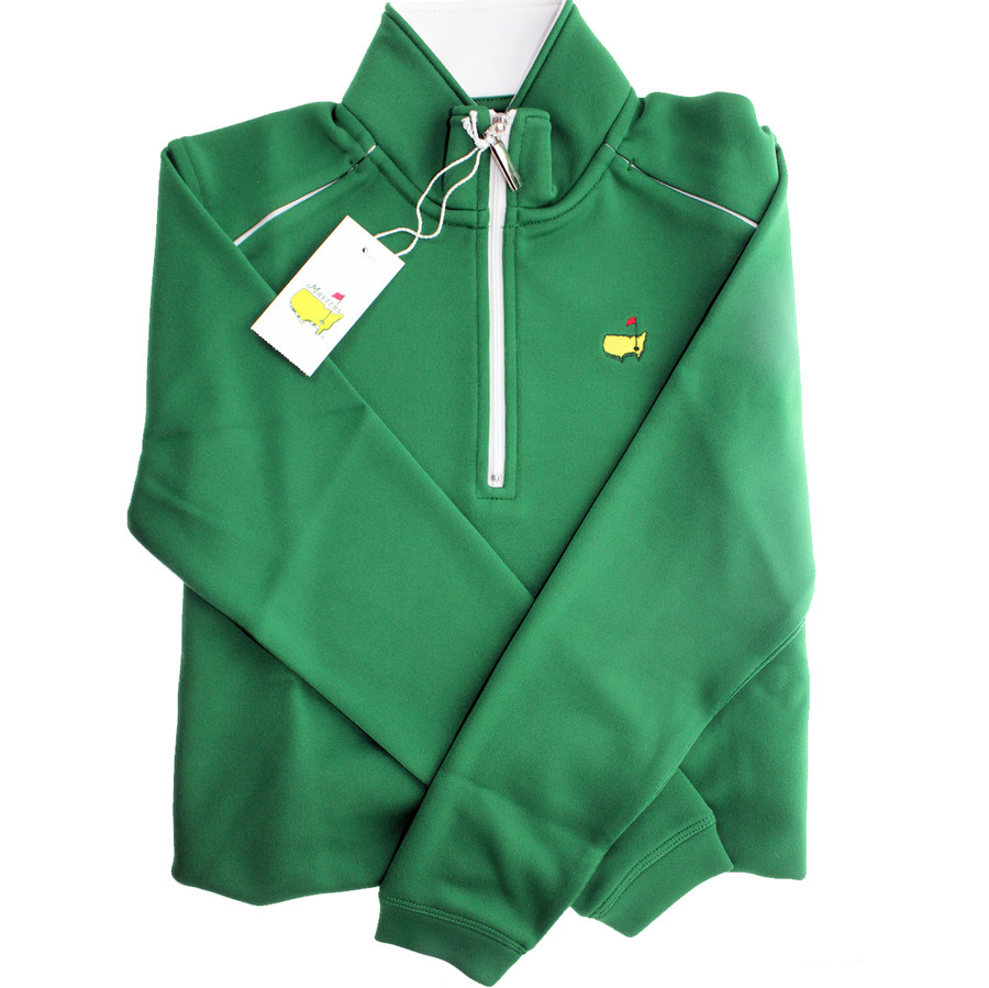 Masters Youth Green Performance Tech 1/4 Zip Jacket - XS ONLY