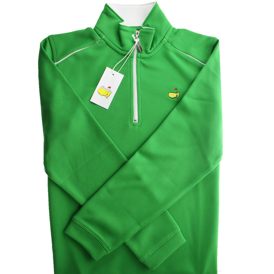 Masters Youth Lime Performance Tech 1/4 Zip Jacket - SM ONLY