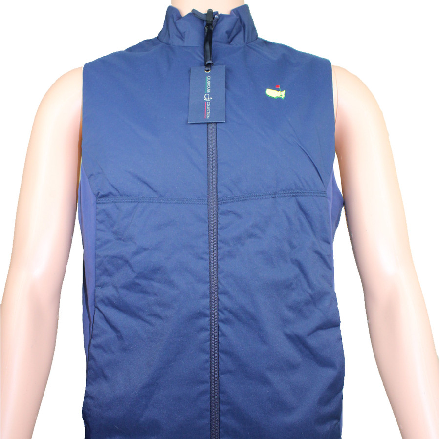 Masters Navy Clubhouse Collection Vest