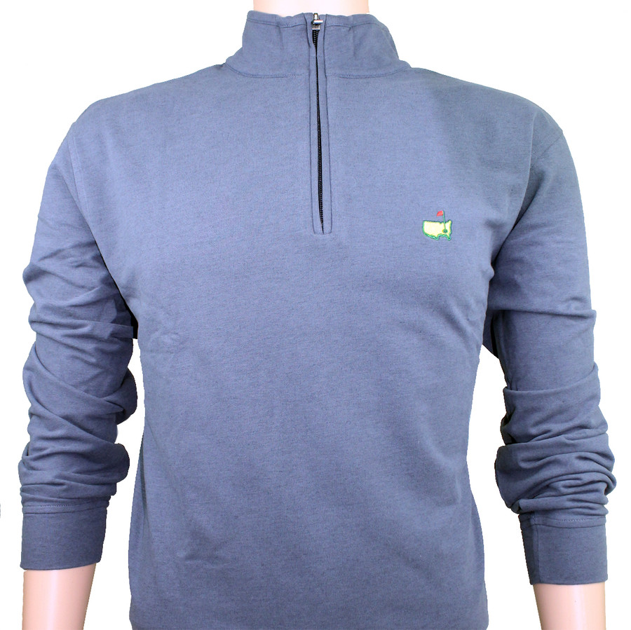 Masters Navy Clubhouse Collection Premium 1/4 Zip Sweater