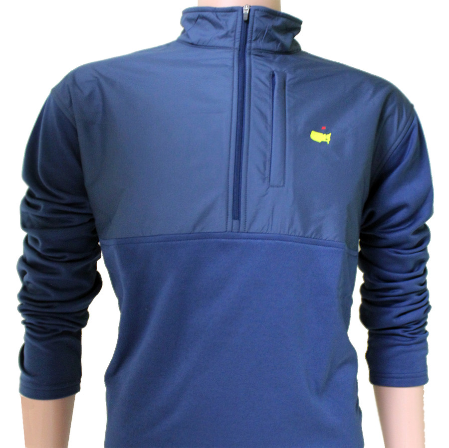 Masters Navy Blue Supreme Performance Tech 1/4 Zip Jacket