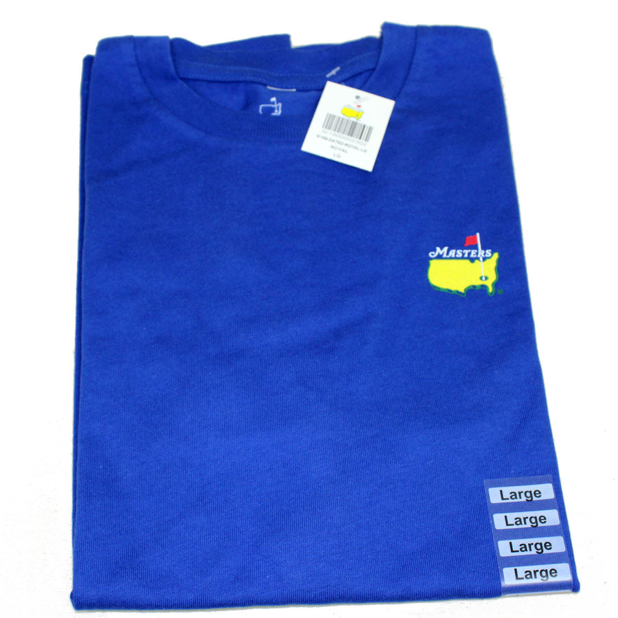 Masters Youth Royal Blue Small Logo T-Shirt