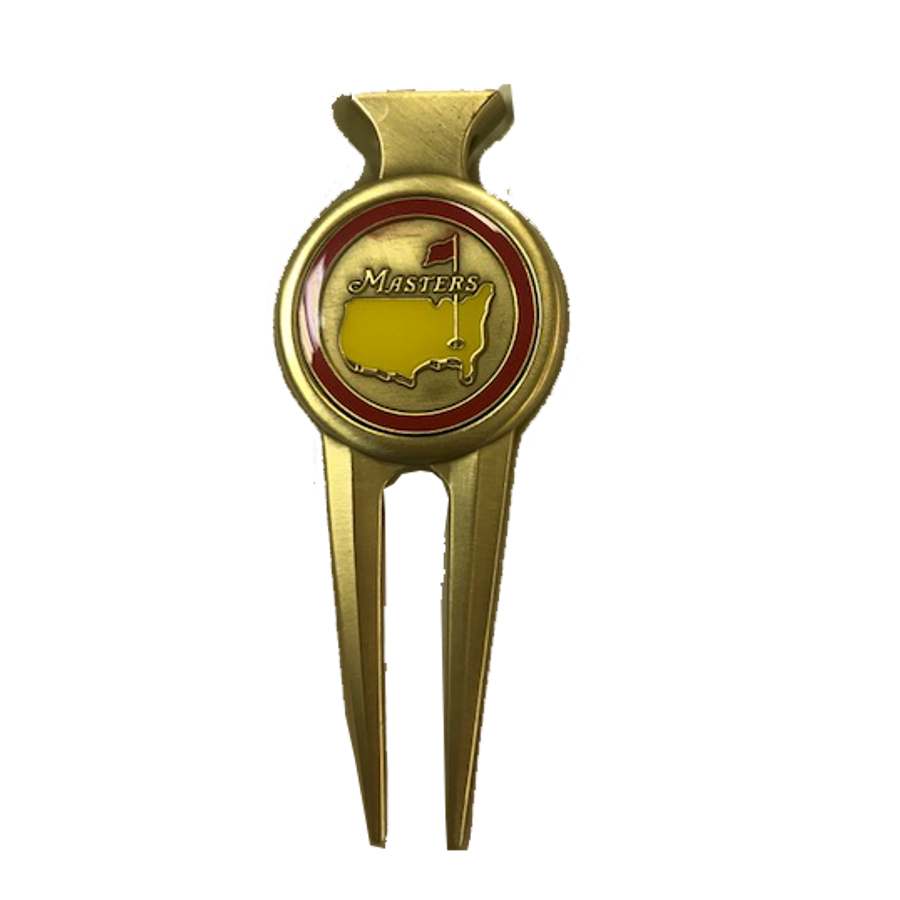 Masters Red & Gold Divot Tool