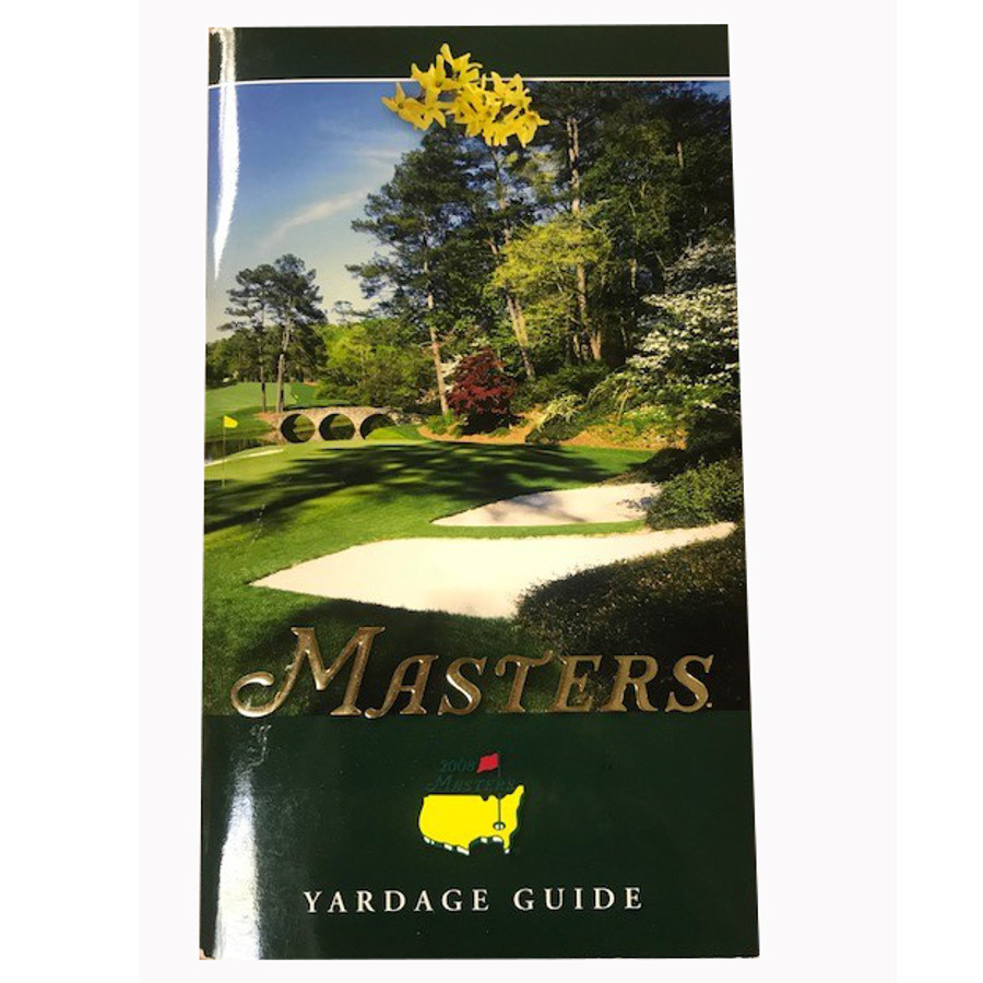 2008 Masters Yardage Guide