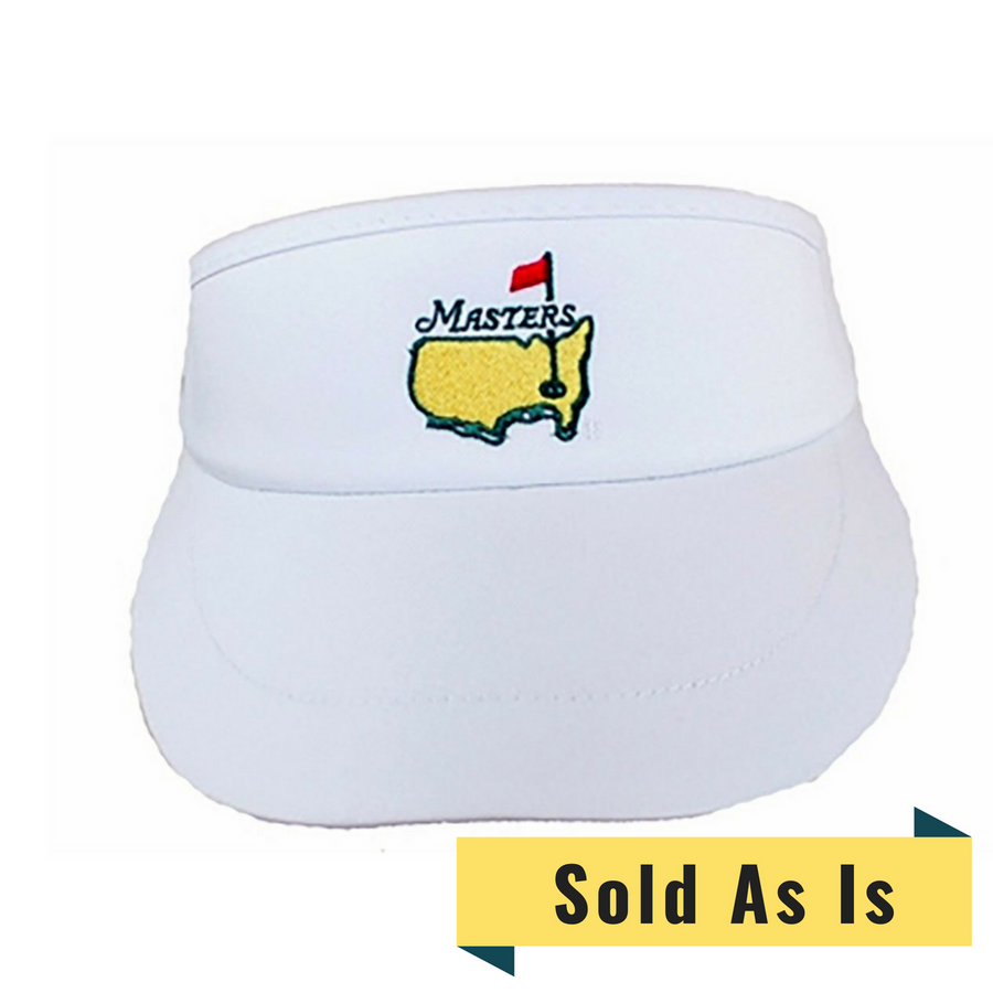 Masters White Visor *AS IS