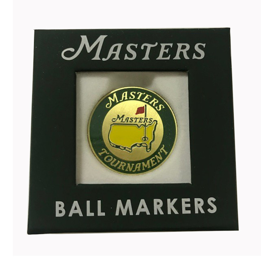 Masters Green and Gold Undated Ball Marker