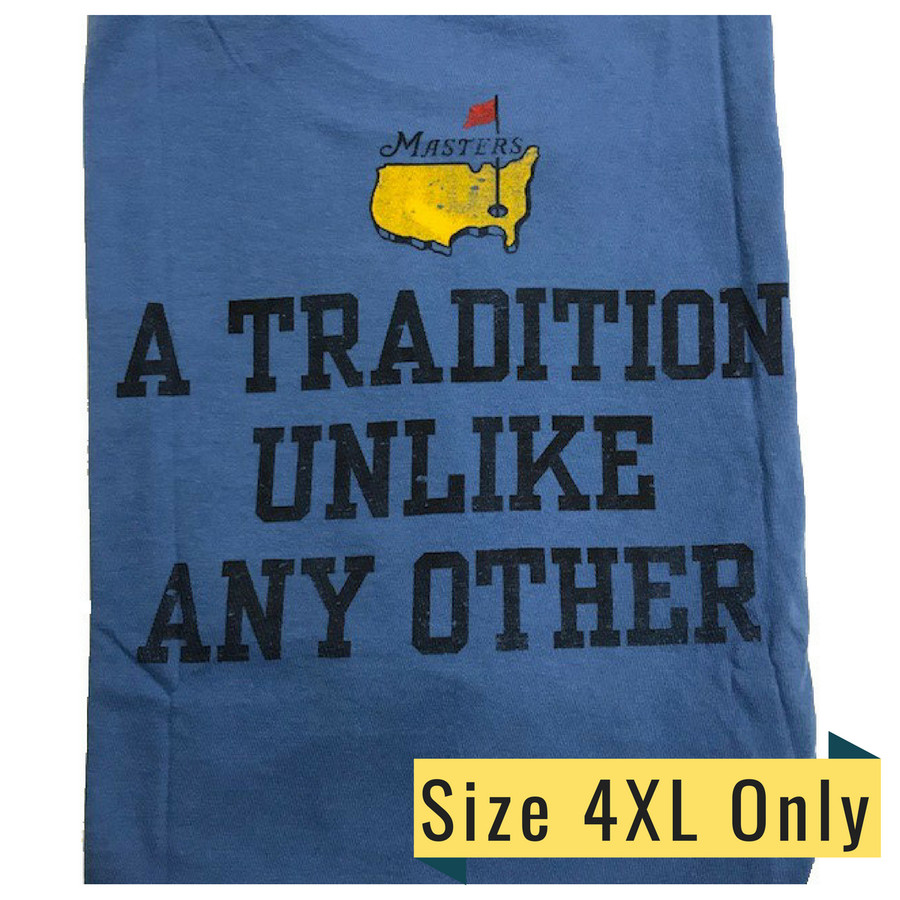 Masters Undated T-Shirt Tradition - Light Blue