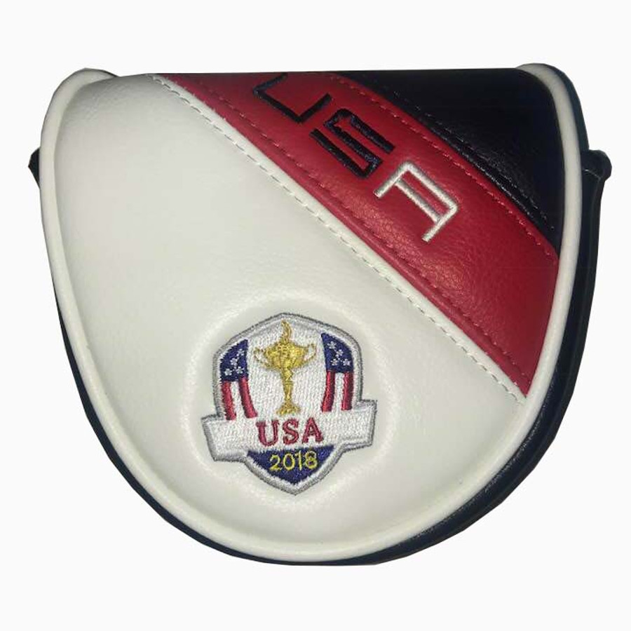 Team USA 2018 Ryder Cup Mallet Putter Cover