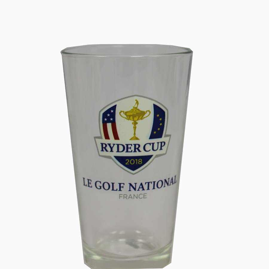 2018 Ryder Cup 16 oz. Glass Cup