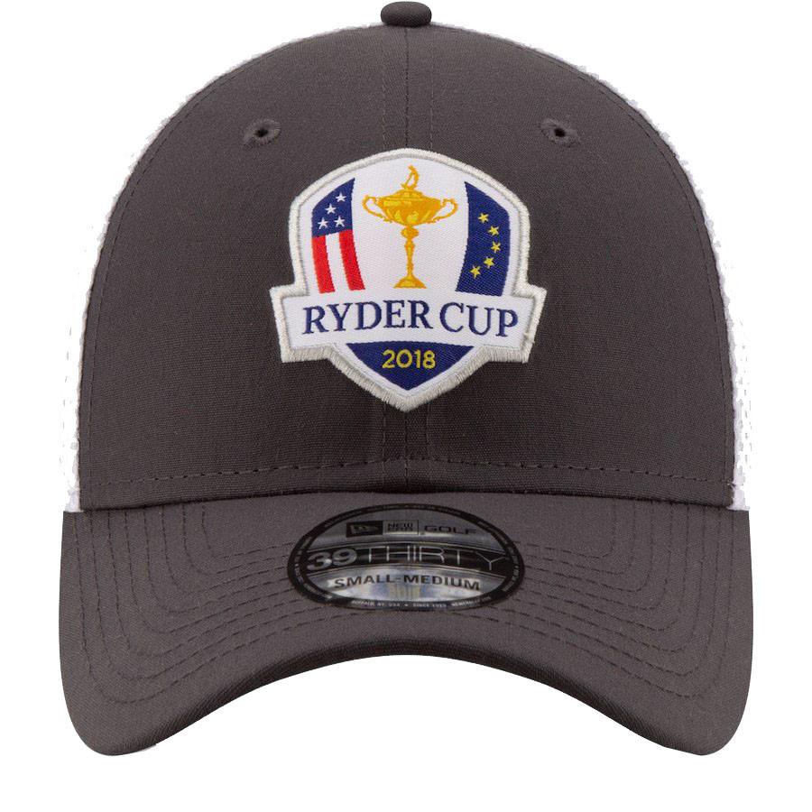 2018 Ryder Cup New Era Hat- 39Thirty Flex Fit- Gray