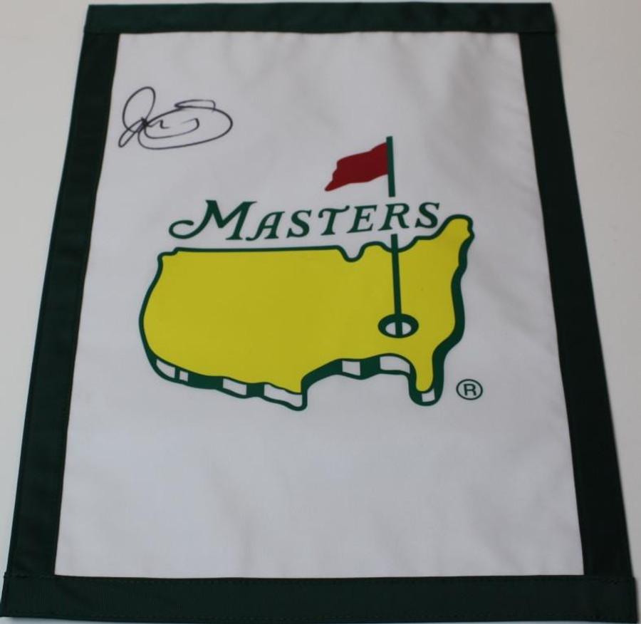 Rory McIlroy Signed Master Garden Flag - JSA COA