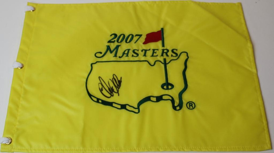 Chris Dimarco Signed Authentic Masters Garden Flag
