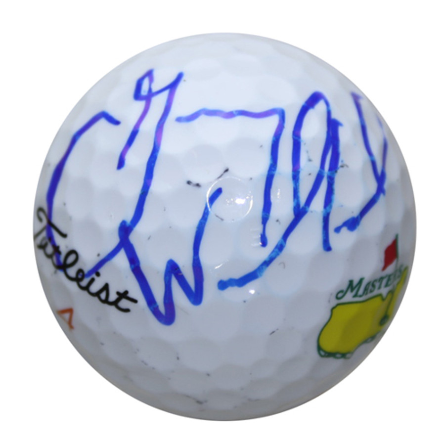 Gary Woodland Autographed Masters Golf Ball