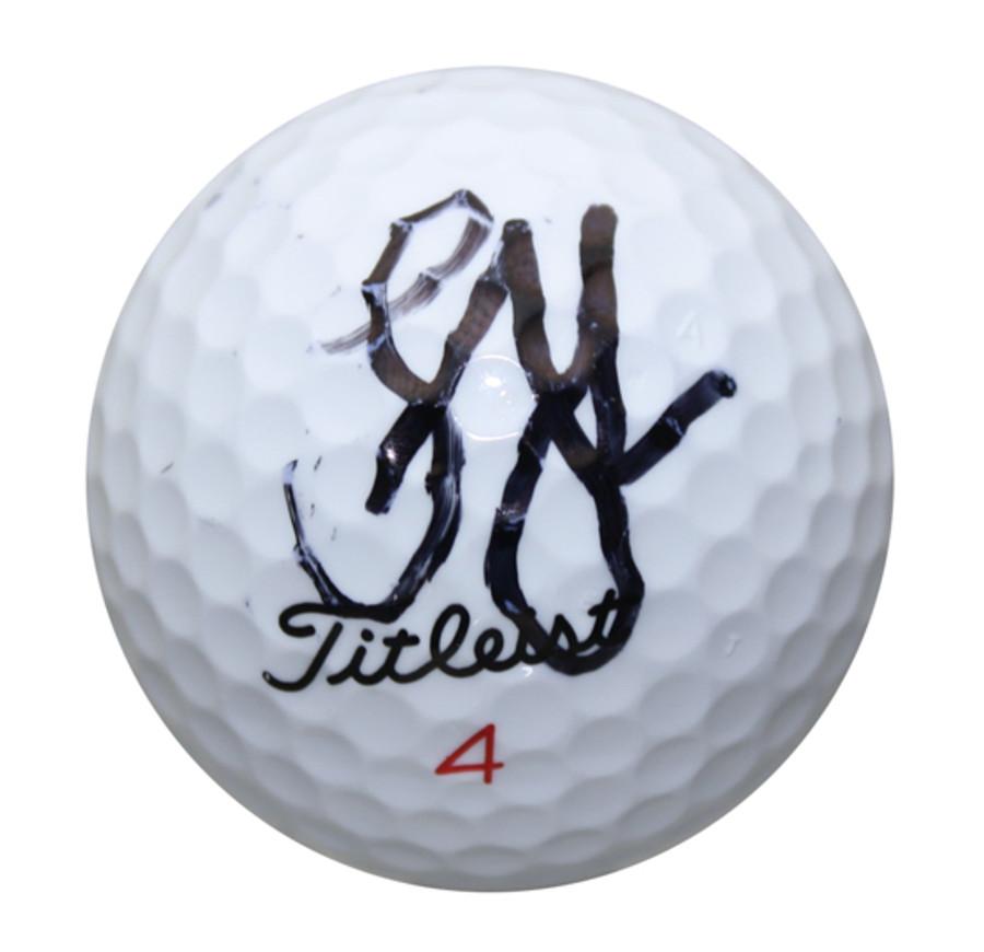 Lucas Glover Autographed Golf Ball