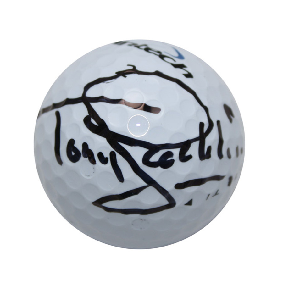 Tony Jacklin Autographed Golf Ball