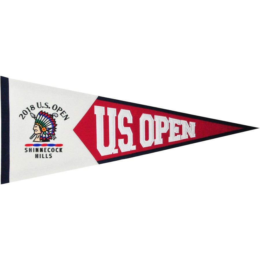 2018 US Open Embroidered Large Felt Pennant