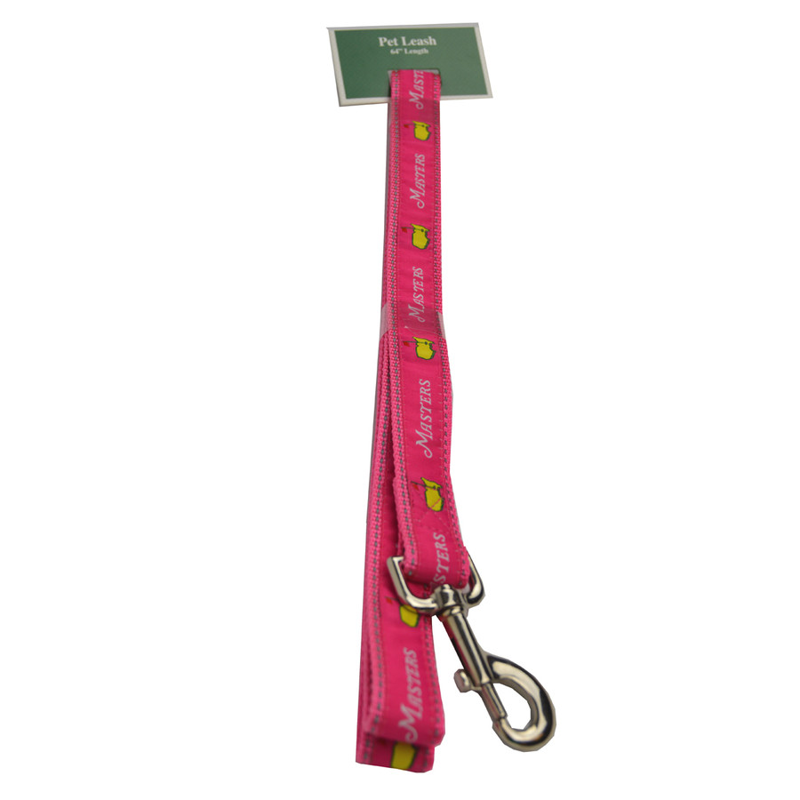 Masters Logo Pink Dog Leash