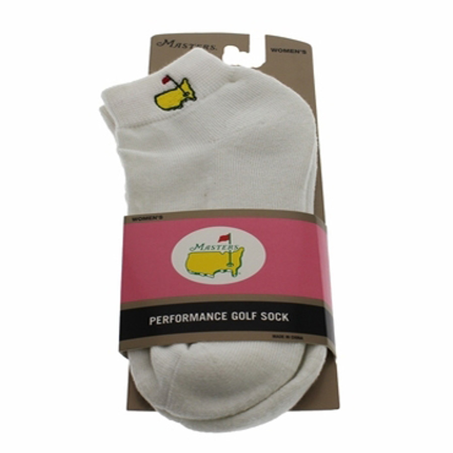 Masters Ladies Sock in White