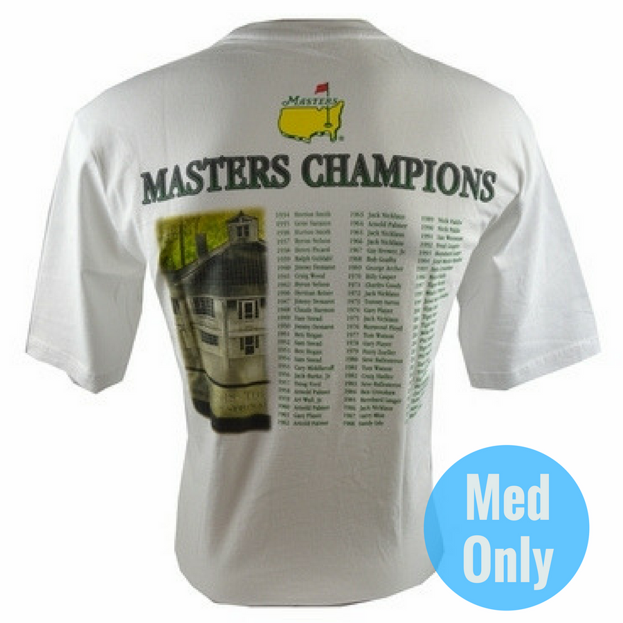 2015 Masters Champions White T-Shirt