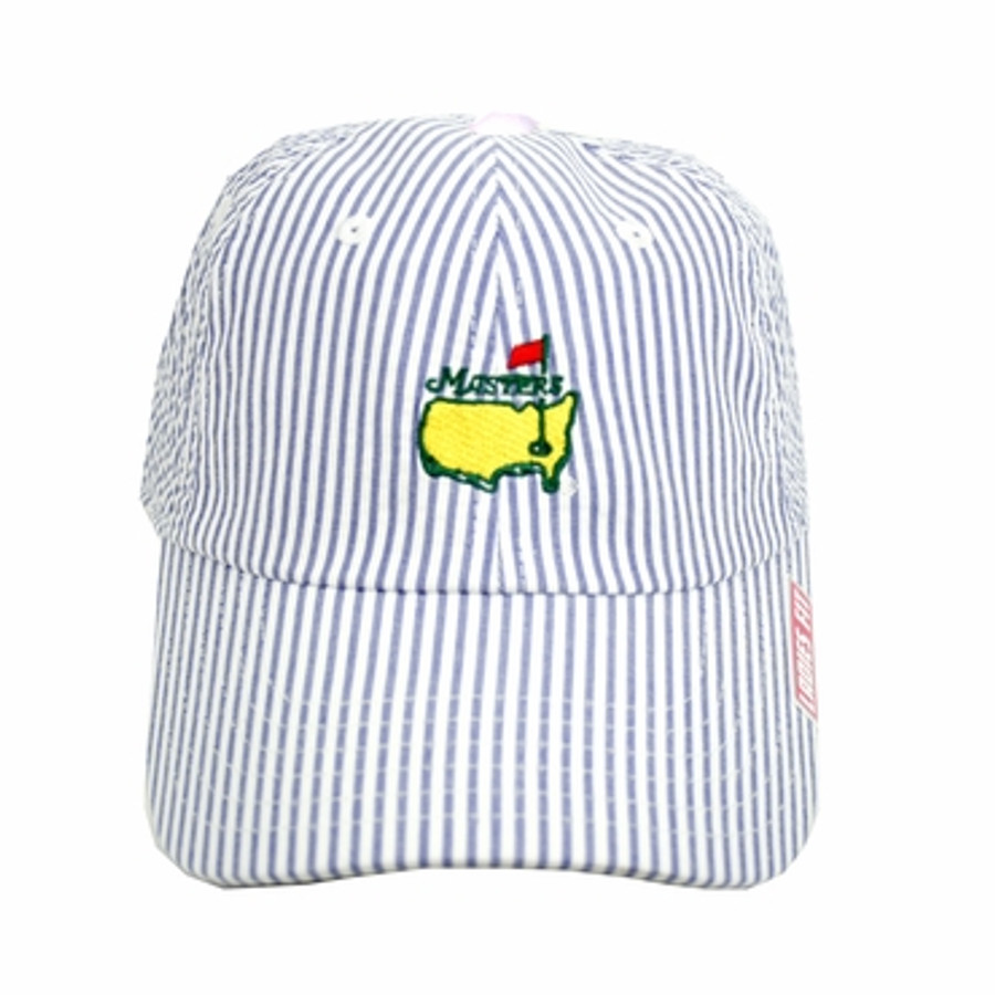 Masters Ladies Caddy Hat - Blue Seersucker