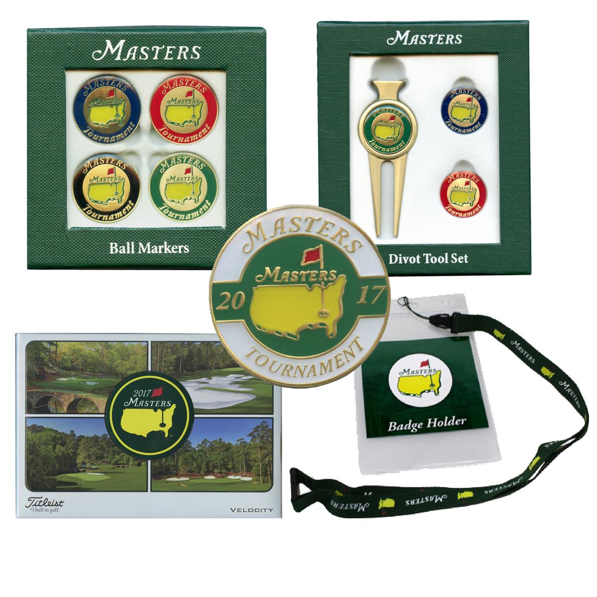 Masters Tournament Golf Accessories