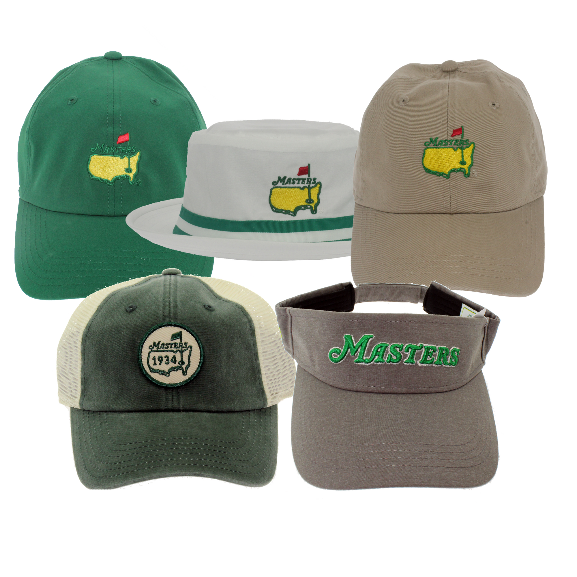 Masters Tournament Hats & Visors