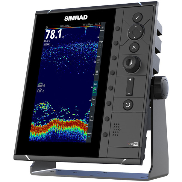 "Simrad S2009 9"" Fishfinder w\/Broadband Sounder Module & CHIRP Technology  [000-12185-001]"