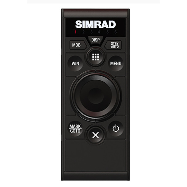 Simrad OP50 Wired Remote Control - Portrait Mount  [000-12364-001]