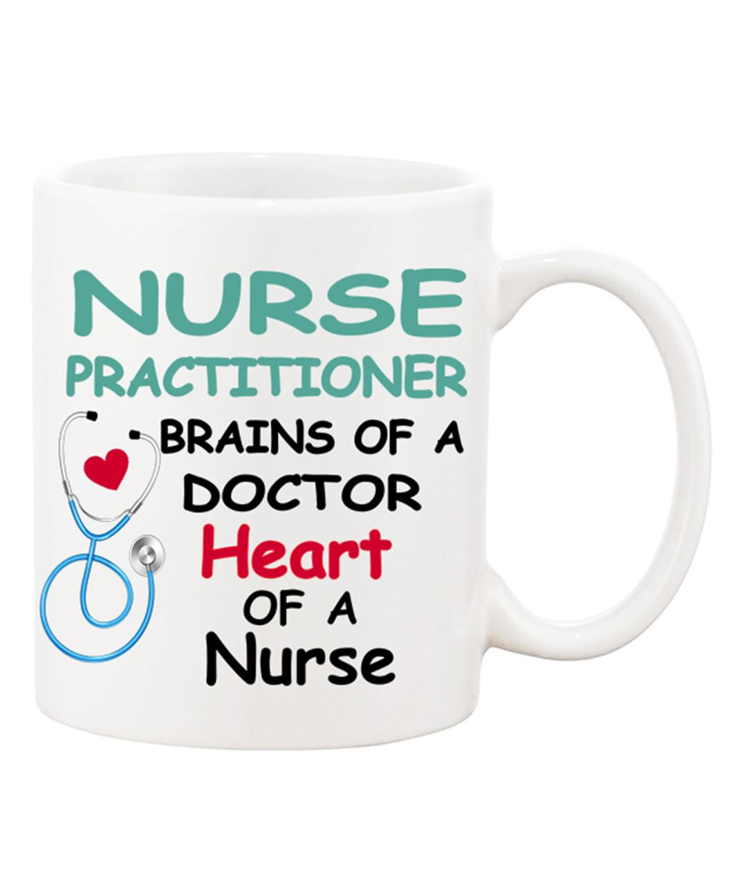 Nurse Practitioner Travel Mugs