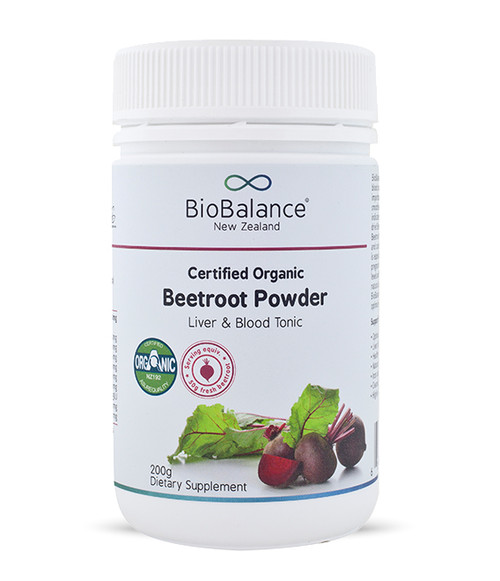 BioBalance Certified Organic Beetroot Powder