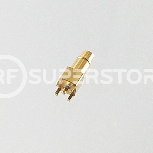 MMCX Plug Connector Solder Attachment PCB Through Hole, Gold Plating